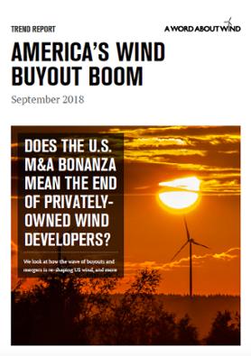 America's Wind Buyout Boom