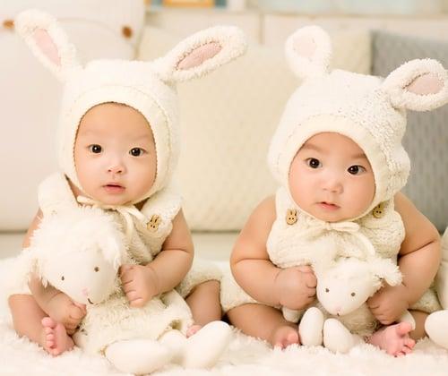 Twins (Pic source: Pexels)